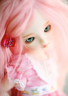 Alice in pink #dolls