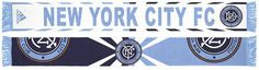 adidas New York City Fc Jacquard Wordmark Scarf