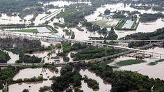 Hochwasser in Halle/Saale Pegel war bei 8,10 Meter