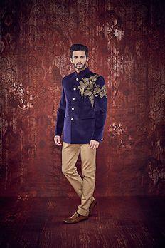 Love the Designer Jodhpuri from BenzerWorld!