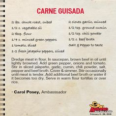 Spice up your dinner menu with this easy recipe; Carne Guisada!