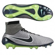 newest dbdb8 49d36 Buy your Nike Magista Obra FG  soccer Cleats (Metallic Pewter Black White)  at your online soccer store - SOCCERCORNER.COM