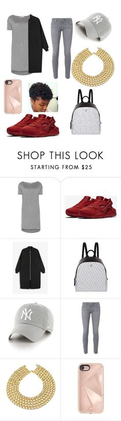 """""""MY STYLE"""" by sung-ra ❤ liked on Polyvore featuring T By Alexander Wang, NIKE, Monki, MCM, '47 Brand, AG Adriano Goldschmied, Chanel and Rebecca Minkoff"""
