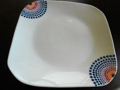 Hand paited plate
