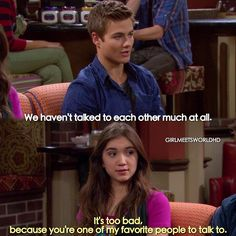 #GirlMeetsNewWorld this scene made me cry it was so sweet/sad yes