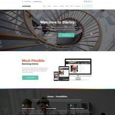 Investment Company.  Starbis - Többfunkciós Bootstrap 4 weboldal sablon a különböző üzletek számára
