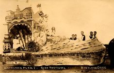 BayOcean Rose Parade Float 1909; This Oregon town boasted a heated indoor wave pool and amusement park before falling into the sea.