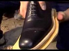 How to make a shoe - Part 4. - YouTube