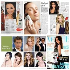 Celebrity skin care signs Looking for the best facial gadget? Galvanic spa system II can make you look 10 years younger. Message me for a FREE trial & visit me on my page to find out more at you there Love and Light Wiki Wikaira