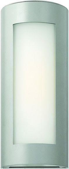 0-009541>Solara 1-Light Outdoor Wall Light Titanium