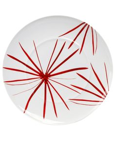 Mikasa - 'Pure Red' Collection - 'Star' Round Platter