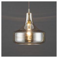 Tesco direct: Cologne Glass Pendant Light, Champagne Metallic