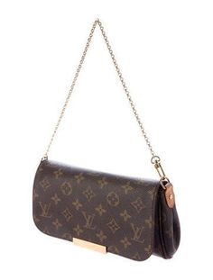 Louis Vuitton Monogram Favorite PM Crossbody Bag // Designer Handbag Fall Outfit Essentials 10 classic crossbody bags to invest in: these timeless designer handbags are wardrobe staples that will never go out of style. Fall Handbags, Gucci Handbags, Luxury Handbags, Louis Vuitton Handbags, Fashion Handbags, Purses And Handbags, Fashion Bags, Louis Vuitton Monogram, Vuitton Bag