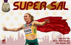 Australia's Sally Pearson wins GOLD over the 100m hurdles at the 2017 IAAF World Championships in London