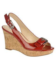 Franco Sarto Shoes, Carnival Slingback Wedges