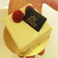 Bavarese al cioccolato bianco e frutti rossi #PasticceriaSuMisura #dessert #Lecco