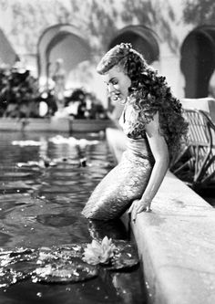 Ann Blyth in 'Mr. Peabody and the Mermaid' 1948.