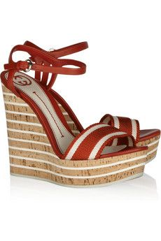 Gucci wedges....sigh too bad they are $675, I would NEVER pay that much for shoes.