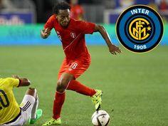 André Carrillo se acerca al Inter de Milán y no renovaría con Sporting Lisboa, según prensa italiana. Setiembre 11, 2015.