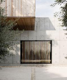 Casa caja de hormigón,© Jack Thompsen