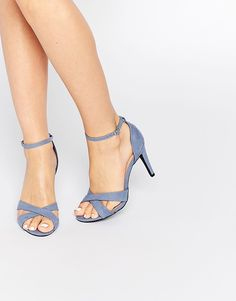4d16a1a96d4d Image 1 of New Look Cross Front Heeled Sandal New Look Sandals