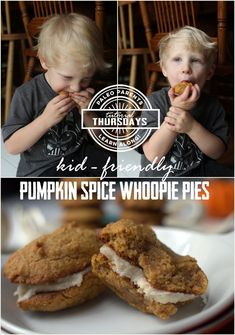 Surprisingly simple and easy, we highly recommend you give these Pumpkin Cookies a whirl. Even better, make them into Whoopie Pies!