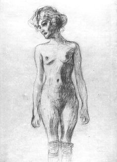 the majority of these are early Klimt drawings created while he was a student. Gustav Klimt, Klimt Art, Animal Drawings, Cool Drawings, Figure Drawings, Art Nouveau, Human Sketch, Great Works Of Art, Sketchbook Inspiration