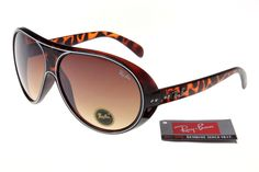 Ray-Ban Jackie Ohh 136 Leopard Grain Frame Tawny Lens RB1012