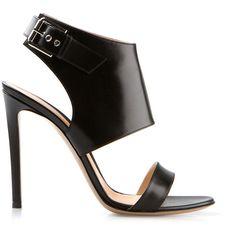 Gianvito Rossi black leather - Shoes - Sandals - Boots - Zapatos - Sandalias - Botas - Heels 2014