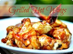 Chicken Recipes Grilled Hot Wings buffalo wings recipe