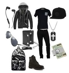 """Im bored #9 (dude edition)"" by dreadful103 ❤ liked on Polyvore featuring SELECTED, Timberland, Skullcandy, Dolce&Gabbana, William Rast, Off-White, Converse, GUESS, David Yurman and American Coin Treasures"