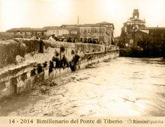 Ponte di Tiberio, Anni '20/30 Rimini  www.hotelpolo.it
