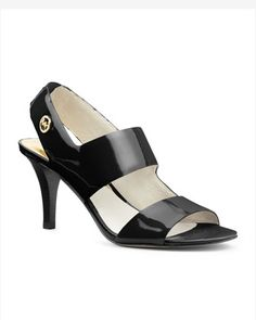MICHAEL Michael Kors  Rochelle Open-Toe Sandal. Love these. Don't pinch your toes, and are comfortable heels.