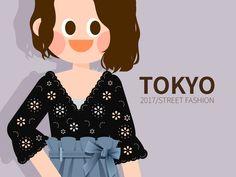 내 @Behance 프로젝트 확인: \u201c2017 TOKYO girls fashion in S/S\u201d https://www.behance.net/gallery/53098545/2017-TOKYO-girls-fashion-in-SS