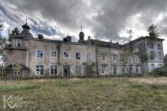 Abandoned house of the Prince of Merode