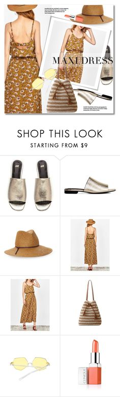 """maxi dress"" by svijetlana ❤ liked on Polyvore featuring Kathy Jeanne, Clinique, maxidress and zaful"