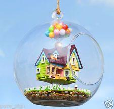 Un artigianato FAI DA TE progetto in miniatura KIT LUCI il volo CABINA destino DOLLS HOUSE