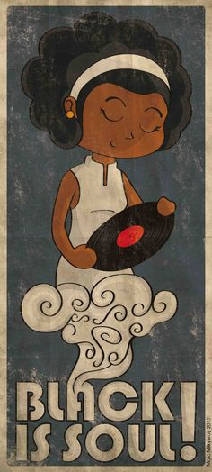 Art and music African American Art, African Art, Pop Art, Natural Hair Art, Neo Soul, Black Artwork, Afro Art, My Black Is Beautiful, Black Women Art