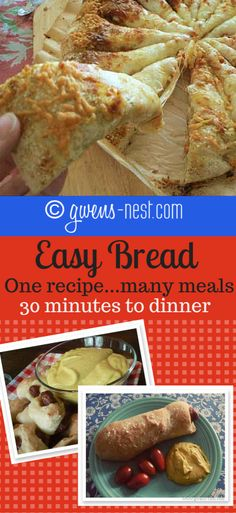 More Easy Bread Recipes - Gwen's Nest