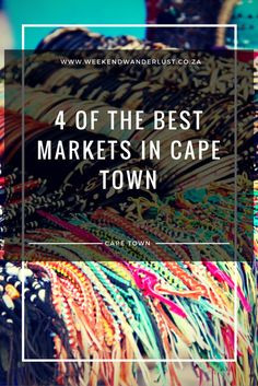 Christmas is around the corner and if you're still looking for that perfect gift you are bound to find it in one of these Christmas markets in Cape Town..