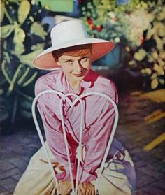 "The actress Audrey Hepburn photographed by Philippe Halsman at ""La Vigna"", a charming villa in Albano Laziale, a comune in the Provincia di Roma, on the Colli Albani, in the region of Lazio, in June 1955.Audrey was wearing:Shirt: Edith Head (of twill cotton in a beautiful shade of pink, created at Audrey's request specially for her personal wardrobe, in 1954).Info: ""La Vigna"" was rented by Audrey and her husband Mel Ferrer, to be their home during the filming of ""War and Peace"". This was the…"
