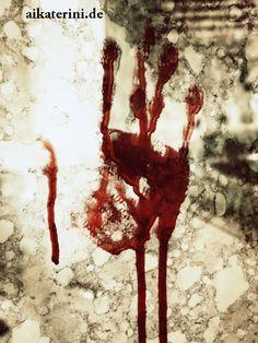 Fremdes Blut _ Mystery-Kurzgeschichte || Leseprobe:  Irgendetwas geschieht, wenn ich schlafe. Nein. Ich tue etwas im Schlaf. Und was ist mit diesem Schaben? Warum bekomme ich es nicht mehr aus meinem Kopf?