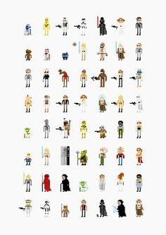 8bit Star Wars