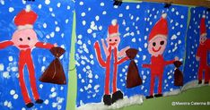 Chi è Babbo Natale? (Ipotesi, fantasie, pensieri... dei bambini) L'immagine di Babbo Natale, utilizzata per... Santa Crafts, Christmas Crafts, Bellisima, Kids Rugs, Puzzle, Blog, Decor, Father Christmas, Parents