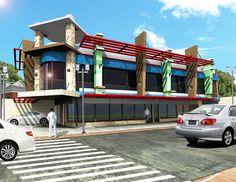 Build commercial buildings