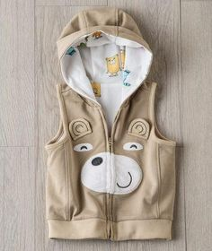 Sweet little teddy bear vest for baby and toddlers exclusively from Hallmark Baby.com
