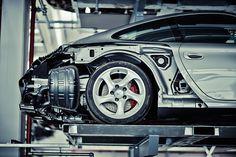 Inside the hidden warehouse of Stuttgart's Porsche museum.