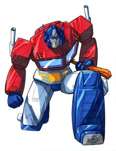 Optimus Prime by Scott Dalrymple