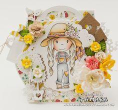 The Paper Nest: Garden Avery #papernestdolls #tamara