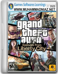 GTA 3 Liberty City Game Cover